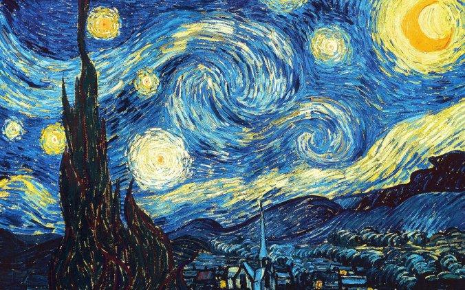 La Noche Estrellada. Vincent VanGogh. 1889. MoMA, Nueva York