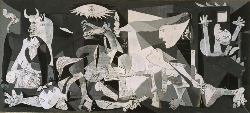 Guernica. Pablo Picasso. http://www.museoreinasofia.es/sites/default/files/obras/DE00050.jpg 1937. Museo Reina Sofía, Madrid, España.