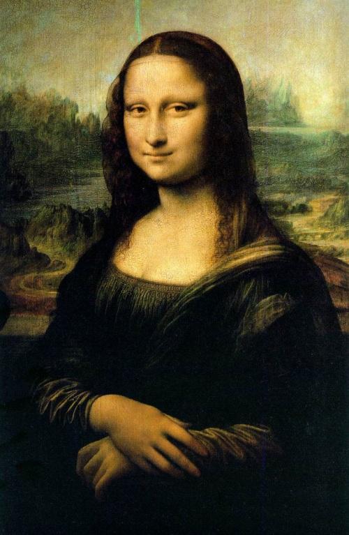 La gioconda. Leonardo DaVinci.  1503-1519