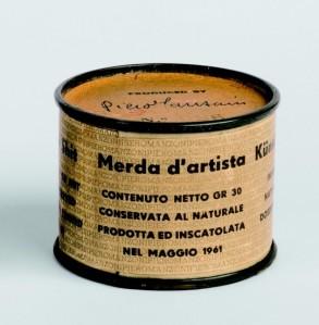 Merda D'Artista. Piero Manzoni. http://blogs.publico.es/strambotic/2014/08/arte-mierder/. 1961.