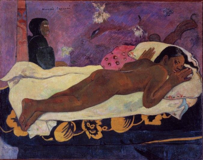 The spirit of the Dead keep watching. Paul Gaugin. 1892